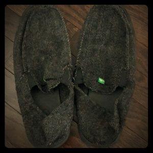Sanuks Men's Shoes Black